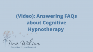 Cognitive Hypnotherapy FAQs